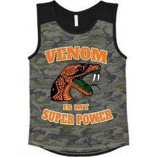 Venom Is My Super Power  camo tank top