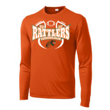 1887 Rattlers Florida A&M Long Sleeve Shirt (Orange - Men)