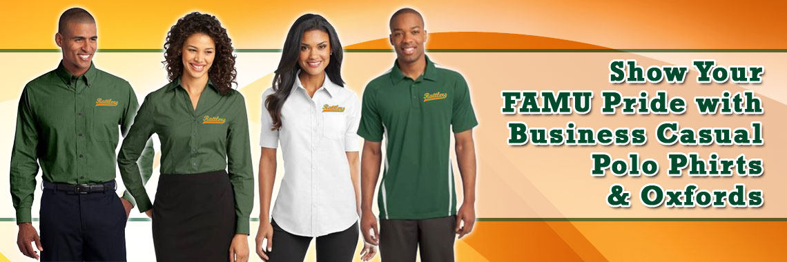 Florida A&M University business casual shirts
