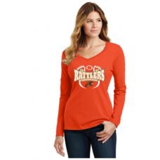 1887 Rattlers Florida A&M Long Sleeve Shirt (Orange)