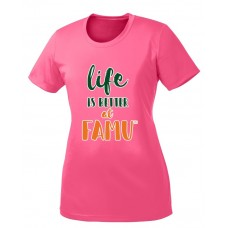Life is Better at FAMU T-shirt (Women)